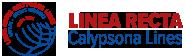 LINEA RECTA CALYPSONA LINES Logo